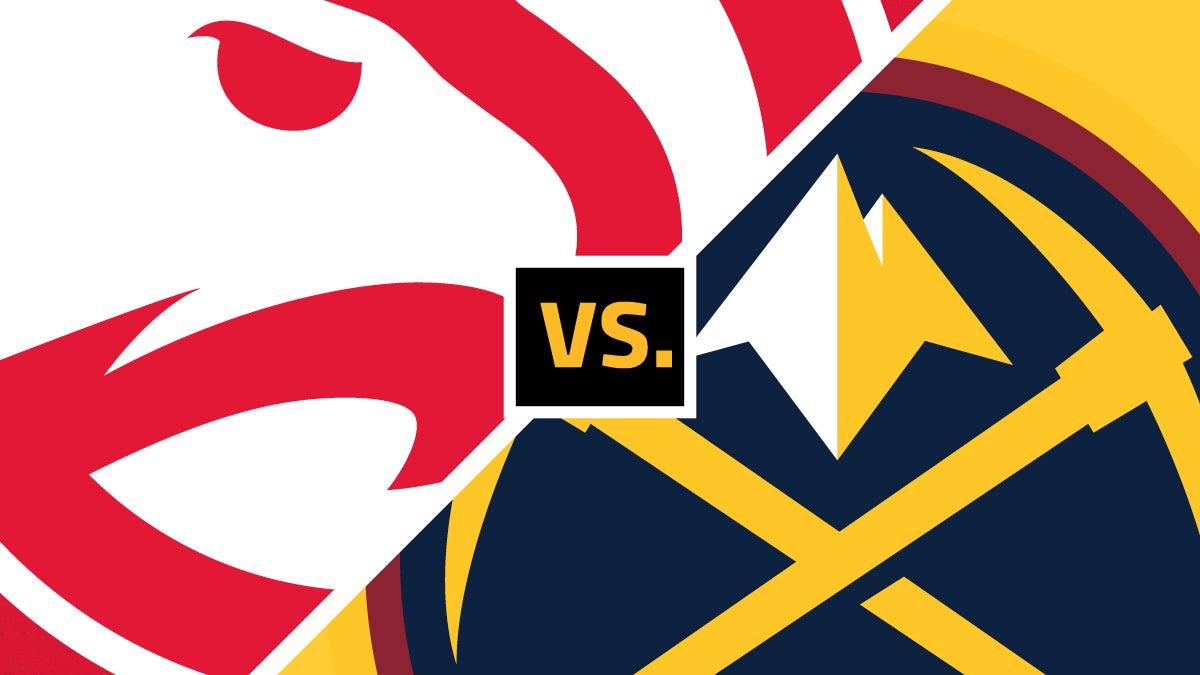 Hawks vs Nuggets
