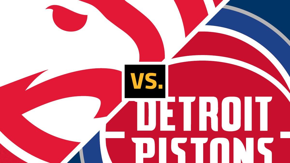 More Info for Hawks vs Pistons