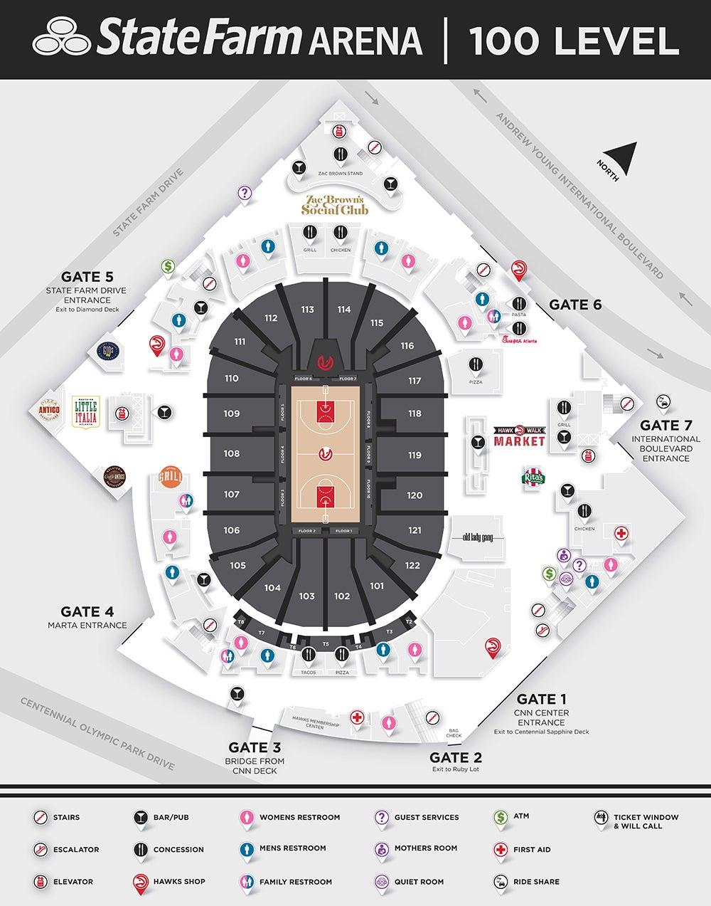 Arena Info State Farm Arena
