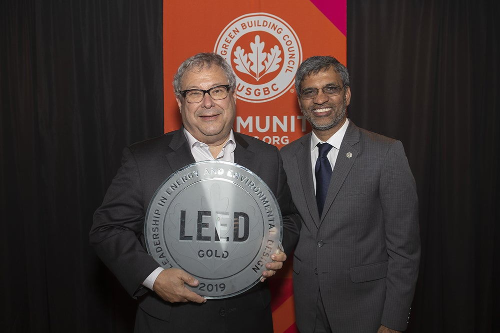 State Farm Arena receives LEED Gold certification.